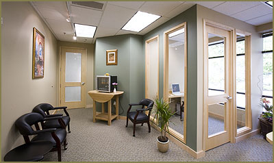 Pearl Dental Center's Waiting Room